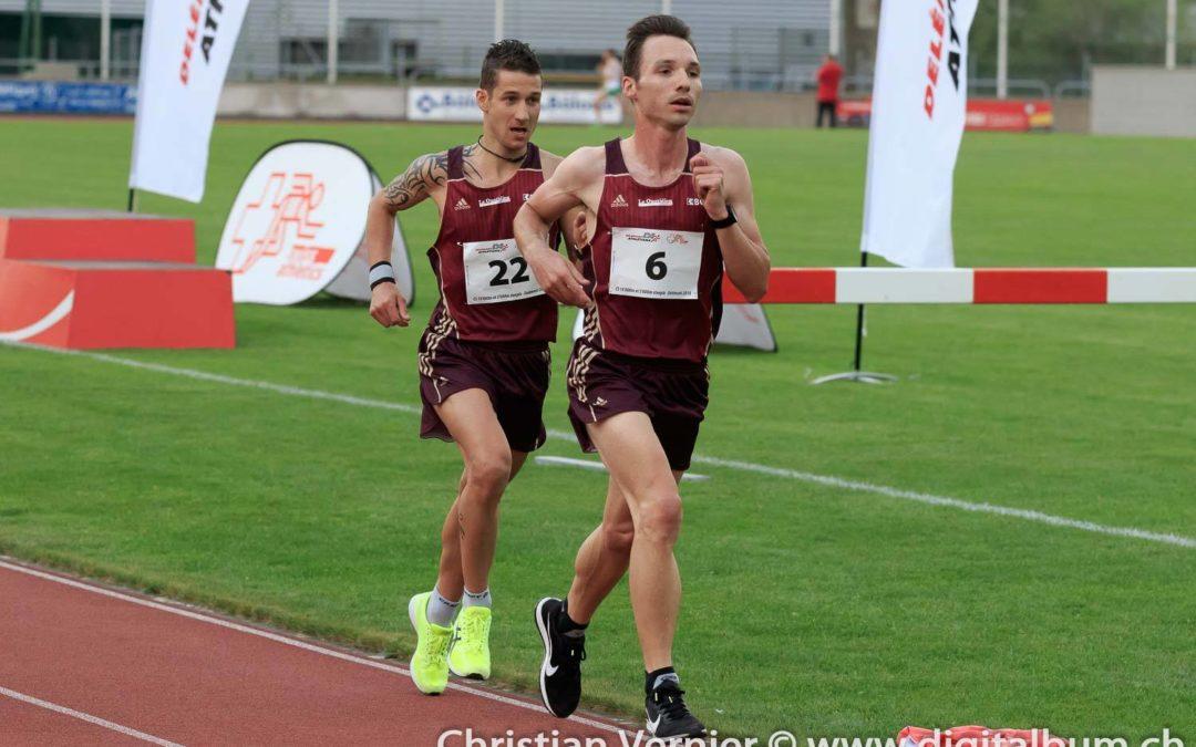 Michaël Morand et Damien Colas bien placés sur 10'000m