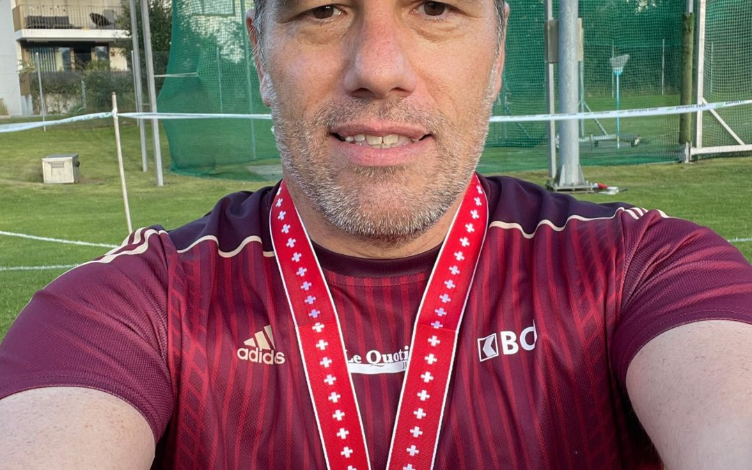 Christian Vernier, champion de Suisse!