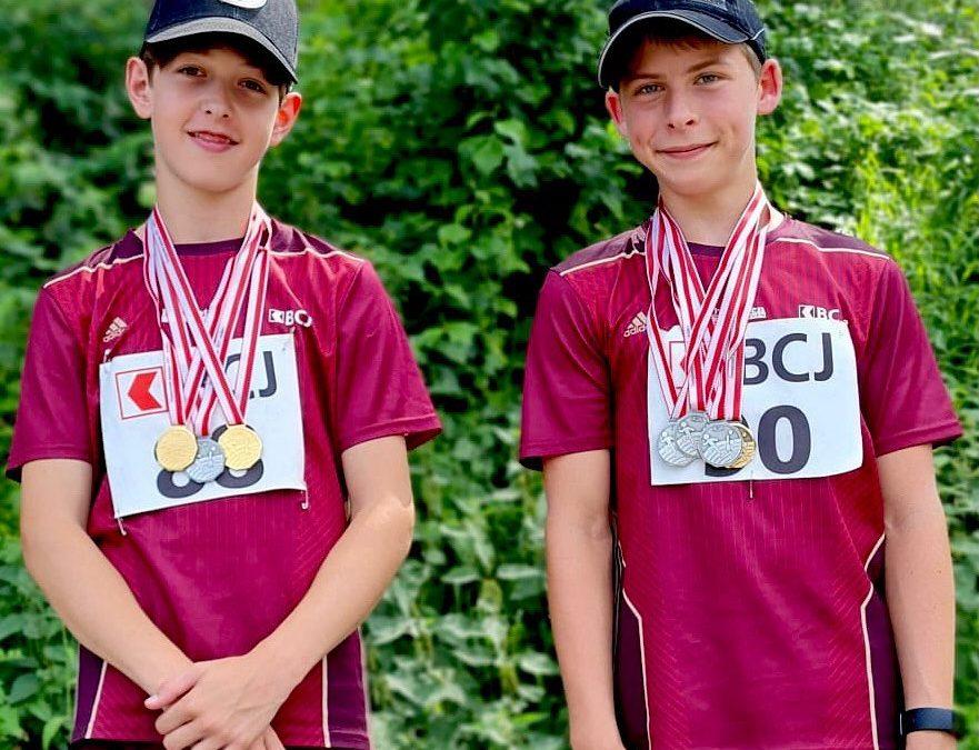 Belle récolte de médailles aux championnats jurassiens écoliers!