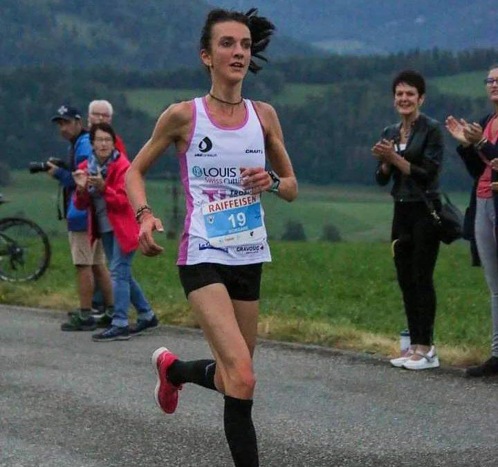 Morgane Crausaz remporte le Tour du val Terbi