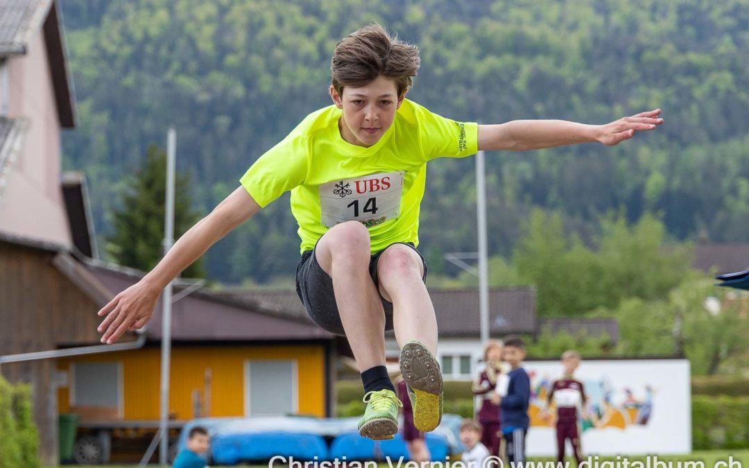 En demi-finale du Swiss Athletics Sprint